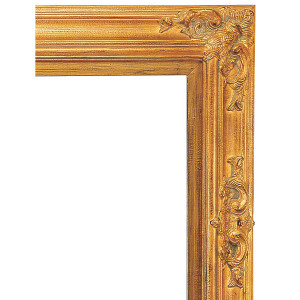 Grand Victorian Frame 40X40 Antique Gold