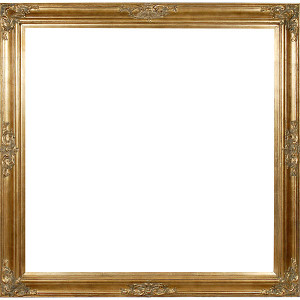 Grand Victorian Frame 48X48 Antique Gold