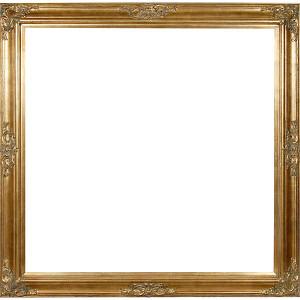 Grand Victorian Frame 48X48 Antique Gold
