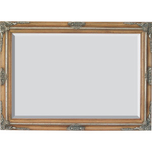 Mini Grand Victorian Frame 24X36 Pecan and Silver
