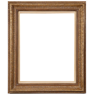 Classic Foliate Frame 24X30 Antique Crackle with Liner