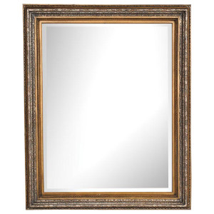 Classic Foliate Frame 30X30 Burnished Gold and Silver