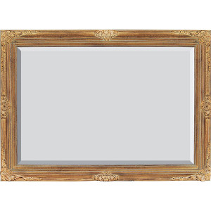 Mini Grand Victorian Frame 24X36 Antique Crackle