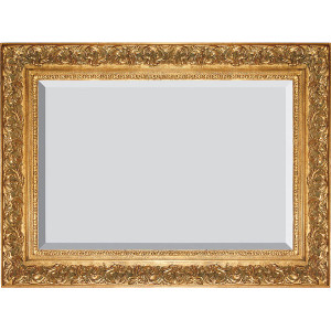 Spec Fleur De Lis Frame 30X40 Antique Gold
