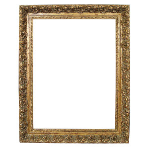 Spec Fleur De Lis Frame 36X36 Old English