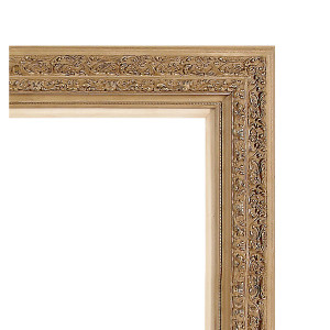 Grand Venetian Frame 36X36 Beige with Liner