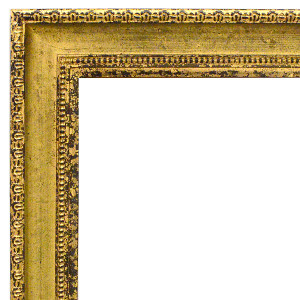 Classic Contour Frame 24X36 Old English