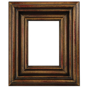 Open Woods Frame 05X07 Burnished Gold