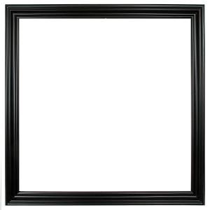 Open Woods Frame 36X36 Black