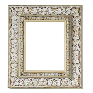 Southern Charm Frame 30X40 White Washed Wood