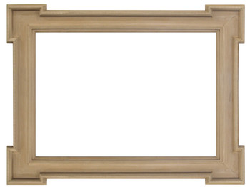 Rustic Simplicity Frame 24X36 Seasoned Wood Distressed