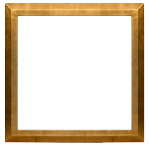 Gallery Mounter Frame 30X30 Gold