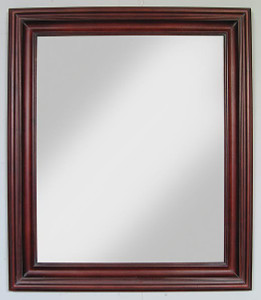 Open Woods Mirror 20x24 Cherry