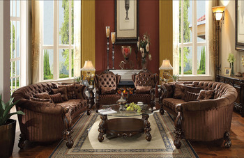 Landbury Chocolate Sofa