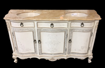 Cabo Blanco Double Sink Vanity