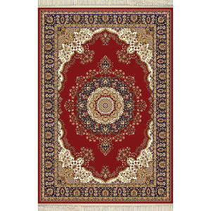 Red Persian Design Area Rug 10x14