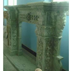 Monumental Grn Marble Mntl(43x43)