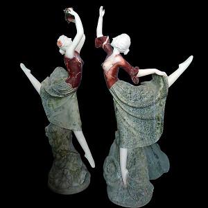 Pair- Dancers - MltColMarble