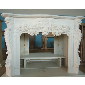 Mantle - White Marble (42x33)