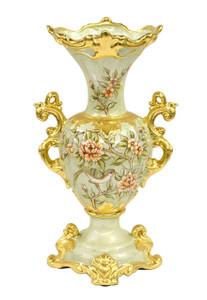 Rose Floral White Vase