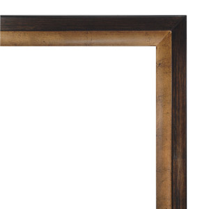 Golden Wood Frame 24X36