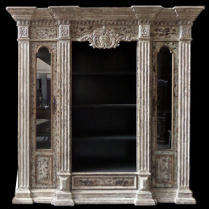 Cabo Blanco Library Cabinet (KIT)