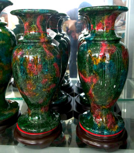 PR - Jade Vases - Multi Color
