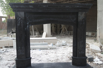 Black Marble Mantel (42x42) 16564
