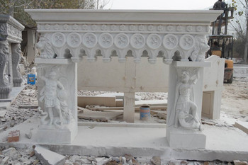 Mantle - White Marble (41X36)