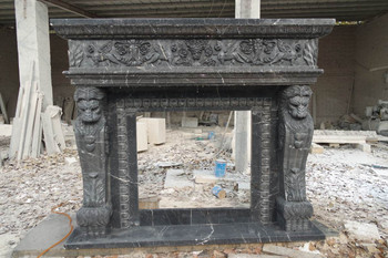 Black Marble Mantle (37x37) 16661