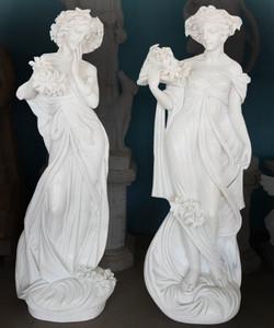 PR - Woman - White Marble