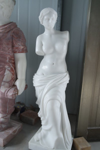 Venus Statue - White Marble - Famous Historical Reproduction