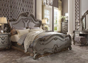 Versailles Platinum King Bed Set of 5