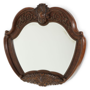 Windsor CourtSideboard Mirror Vintage Fruitwood - E2 -On Sale Michael Amini AICO
