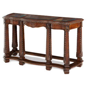 Windsor CourtSofa Table Vintage Fruitwood - E2 -On Sale Michael Amini AICO