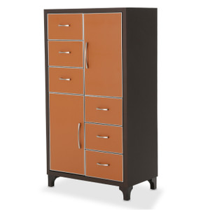 21 Cosmopolitan6 Drawer ChestDiablo Orange/Umber