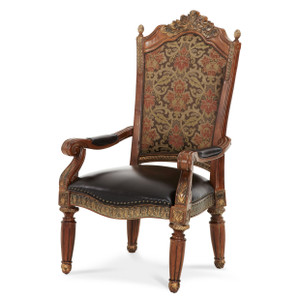Villa ValenciaAssm.Arm Chair Classic Chestnut