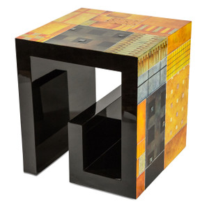 IllusionsSquare End Table - E2 -On Sale Michael Amini AICO