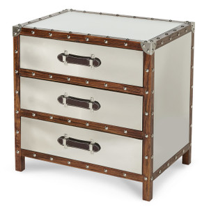 Trunk 3-Drawer Chest - E2 -On Sale Michael Amini AICO
