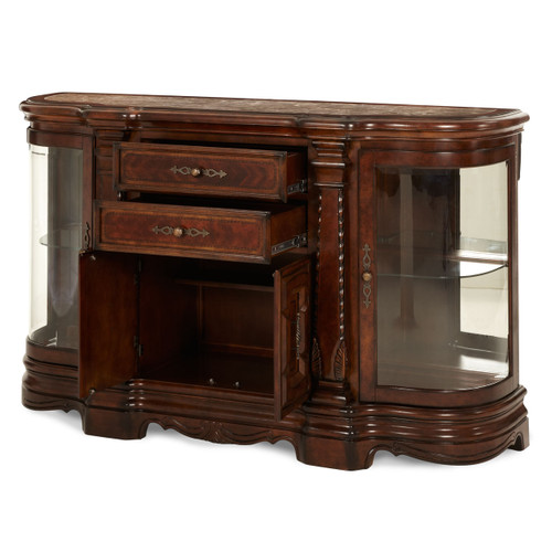 Windsor CourtSideboard Vintage Fruitwood - Michael Amini AICO Furniture - 70007-54
