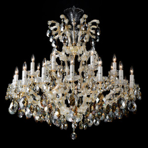 La Scala25 Light ChandelierCognac