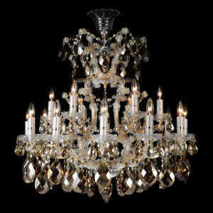 La Scala19 Light ChandelierCognac