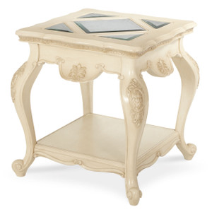 LavelleEnd Table Blanc