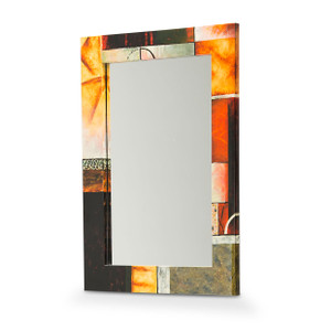 IllusionsRect. Wall Mirror - E2 -On Sale Michael Amini AICO