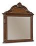 Old World- Crowned Landscape Mirror  - ART Furniture - 143121-2606