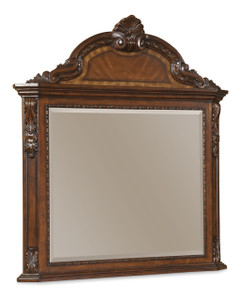Old World- Crowned Landscape Mirror  - ART Furniture - 143121-2606