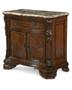 Old World- Stone Top Door Nightstand  - ART Furniture - 143142-2606
