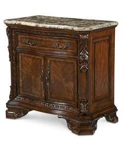 Old World- Stone Top Door Nightstand  - ART Furniture - 143142-2606