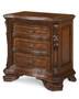 Old World- Wood Top Bedside Chest  - ART Furniture - 143148-2606