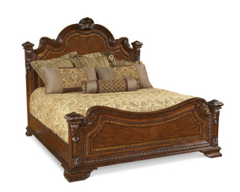Old World- 5/0 Estate Bed  - ART Furniture - 143155-2606